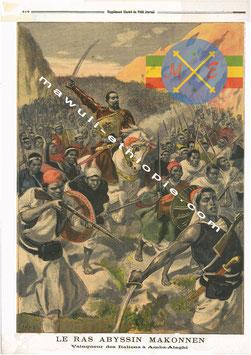 Ras Makonnen à la bataille d'Amba Alaghi
