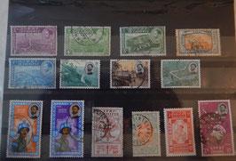 """Série de Timbres éthiopiens originaux """"Transport 2"""""""