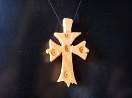 Croix Ethiopienne en Bois. Tierce