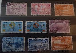 """Série de Timbres éthiopiens originaux """"Divers 2"""""""