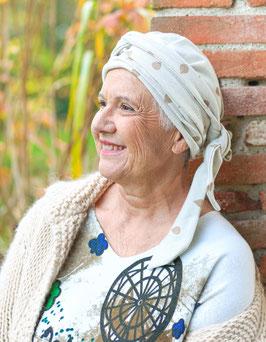 Bonnet Brigitte ivoire