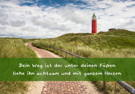 "Karte ""Leuchtturm"""