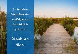 "Karte ""Dein Weg"""