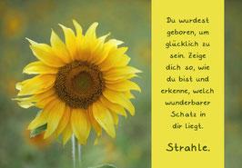 "Karte ""Sonnenblume"""