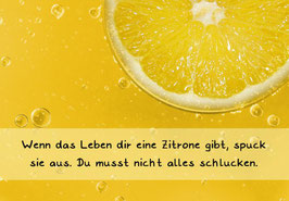 "Karte ""Zitrone"""