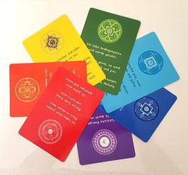 Chakra Kartenset 7 Karten