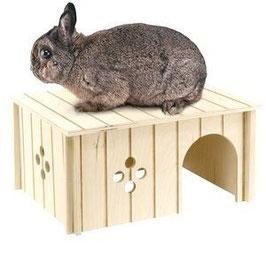 Ferplast - Домик для кролика (дерев.) 33х23,6х16 см (SIN 4646)