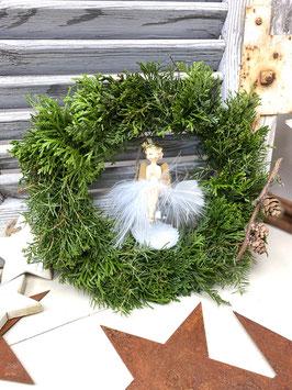 Weihnachtskugel mit Engel——-Art.Nr. WEI071