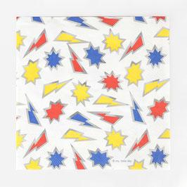 16 serviettes en papier - Super-héros