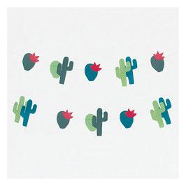 Guirlande en papier cactus