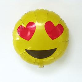 """Ballon smiley """"love"""""""