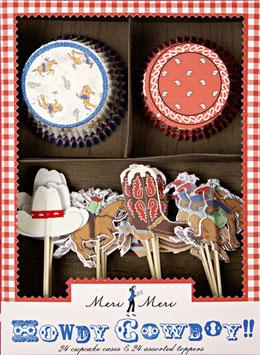 Kit à cupcakes Cowboy