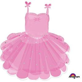 Ballon mylar robe princesse - danseuse