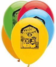 6 Ballons imprimés Ma Petite Ferme
