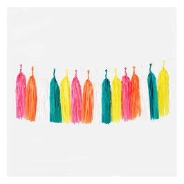 Kit de guirlande tassel multicolore