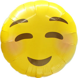 """Ballon smiley """"timide"""""""