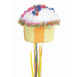 Pinata à tirer Cupcake