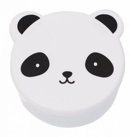 Lunch Box Panda - Set de 4 boîtes Blanc