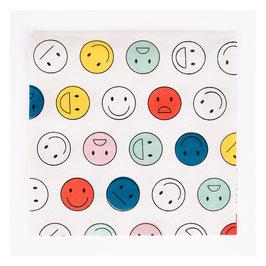 20 serviettes Happy Faces