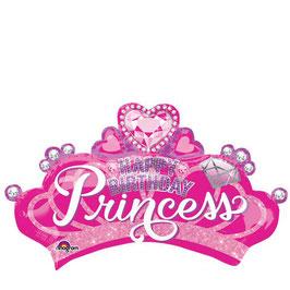Ballon mylar couronne princesse