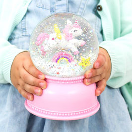 Boule à neige - licorne - A Little Lovely Company