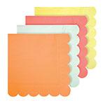 16 serviettes Neon