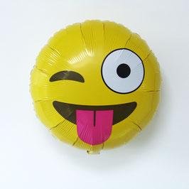 """Ballon smiley """"moqueur"""""""