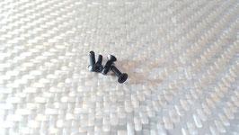4 flat head screws M4 x 16