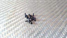 14 flat head screws M3 x 10