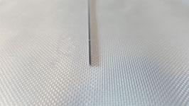 20 cm of steel servo wire, 1 mm diameter