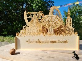 Allerheiligenkirmes in Soest - 3D-Kunstobjekt - beleuchtbar - Lasercut-Art
