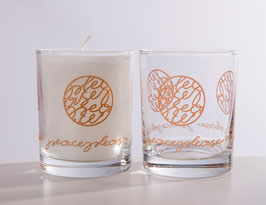 Scented candle/drinking glass