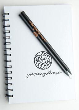 Notizblock & 2 Bleistifte
