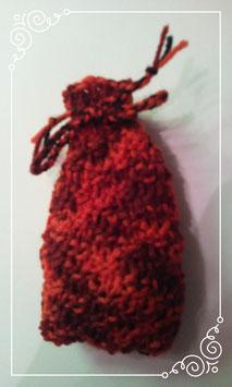 Kleiner Würfelbeutel (rot)