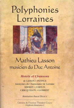 Polyphonies Lorraines vol. 2