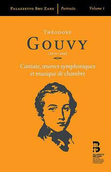 """Livre-disque de la collection """"Portraits"""" - Théodore Gouvy (3 volumes)"""
