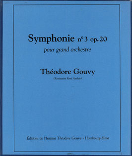 Symphonie 3 (EN LOCATION) - Théodore Gouvy