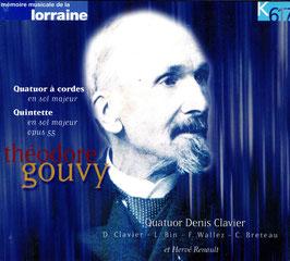 Quatuor à cordes, Quintette - Théodore Gouvy