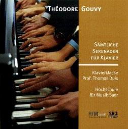 Sämtliche Serenaden für Klavier - Théodore Gouvy
