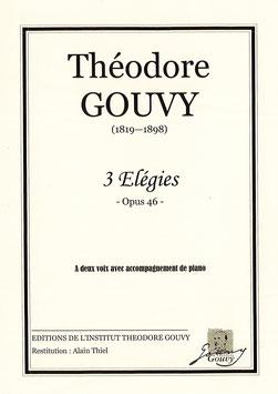 3 Elégies Opus 46 - Théodore Gouvy