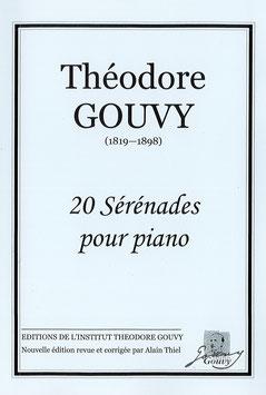 20 sérénades pour piano - Théodore Gouvy