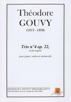 Trio n°4, op. 22 - Théodore Gouvy