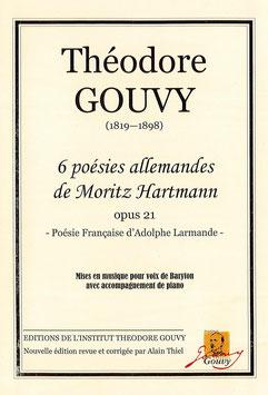 6 poésies allemandes de Moritz Hartmann Opus 21 - Théodore Gouvy