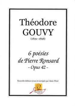 6 poésies de Pierre Ronsard Op.42 - Théodore Gouvy