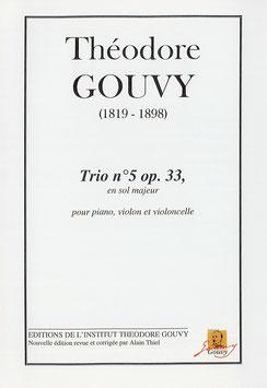 Trio n°5, op. 33 - Théodore Gouvy