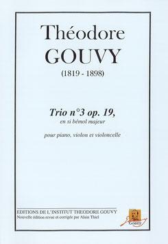 Trio n°3, op. 19 - Théodore Gouvy