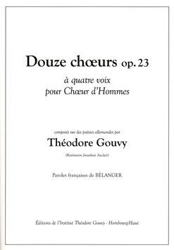 Douze Choeurs Op. 23 - Théodore Gouvy