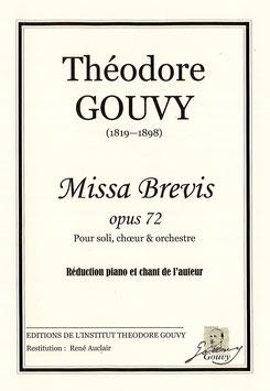 Missa Brevis op. 72 - Théodore Gouvy