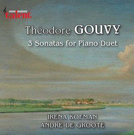 3 Sonatas for Piano Duet - Théodore Gouvy