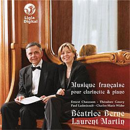 Musique Française pour clarinette et piano - Théodore Gouvy
